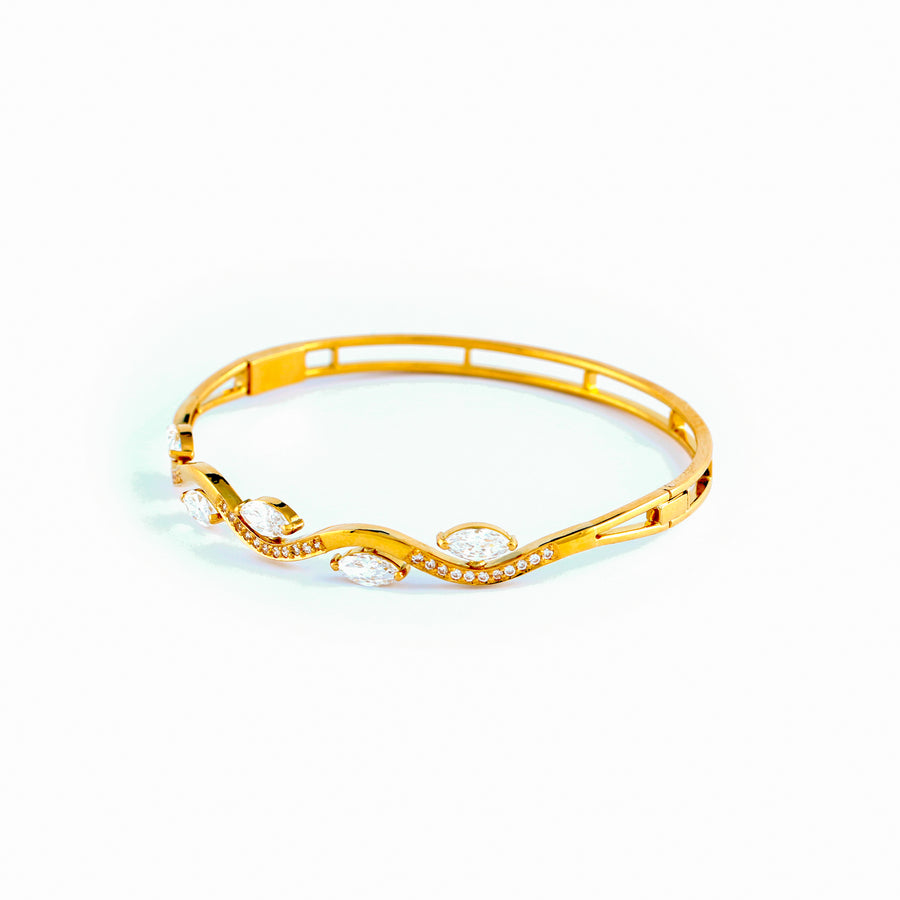 22KT YELLOW GOLD BANGLE (BA0000887)