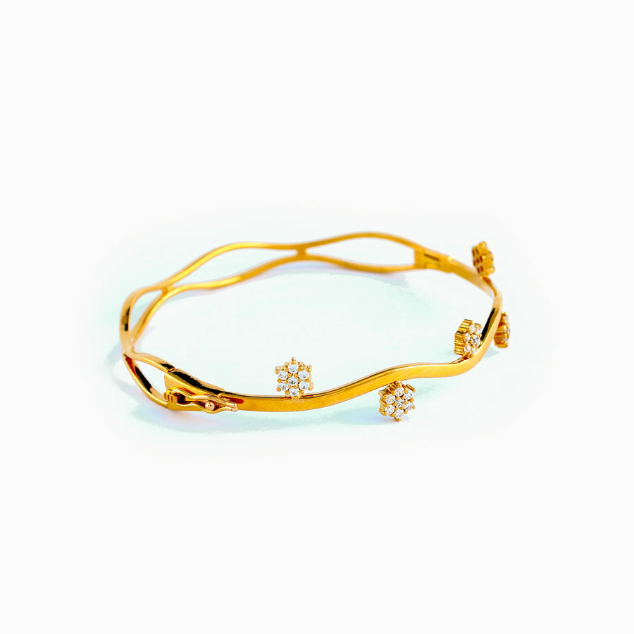 22KT YELLOW GOLD BANGLE (BA0000888)