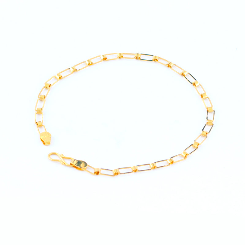 22KT YELLOW GOLD LADIES BRACELET (BR0000198)