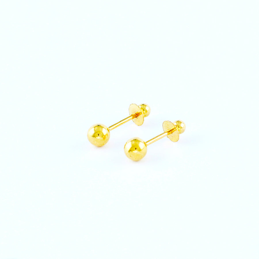 22KT YELLOW GOLD BABY EAR STUD (ES0000014)