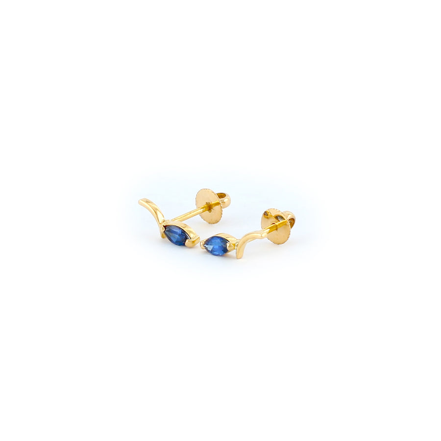 22KT YELLOW GOLD EAR STUD (ES0001194)
