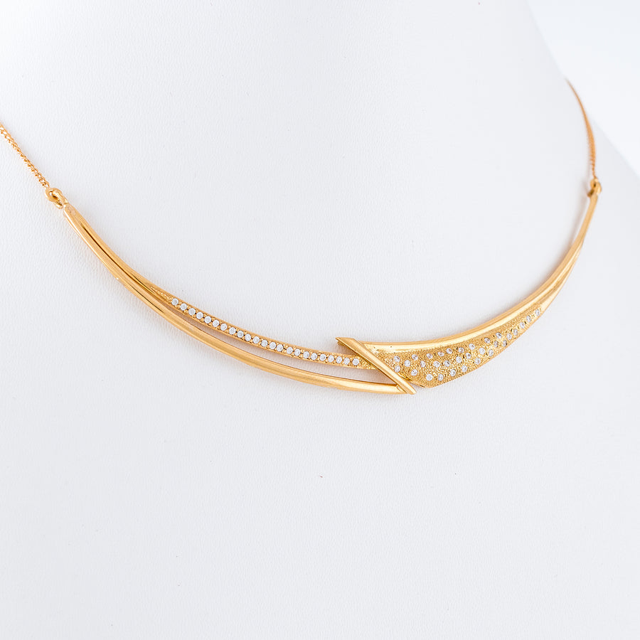 22KT YELLOW GOLD NECKLACE (NE0000307)