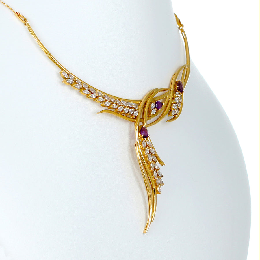 22KT YELLOW GOLD NECKLACE (NE0000970)