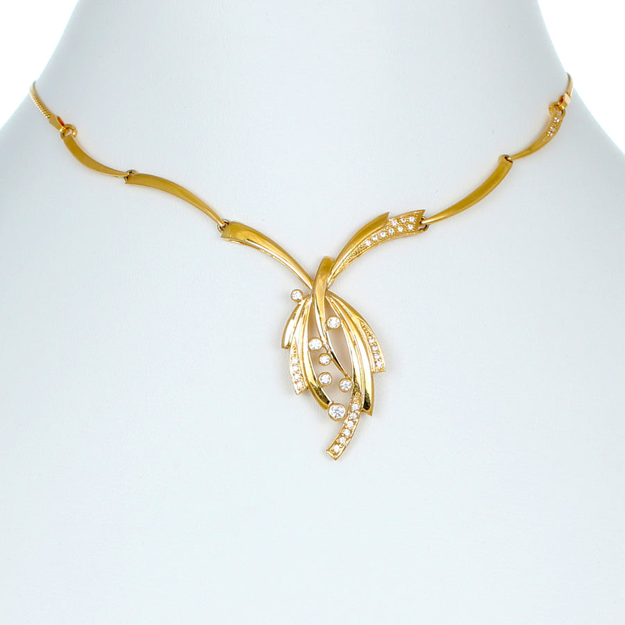 22KT YELLOW GOLD NECKLACE (NE0001014)