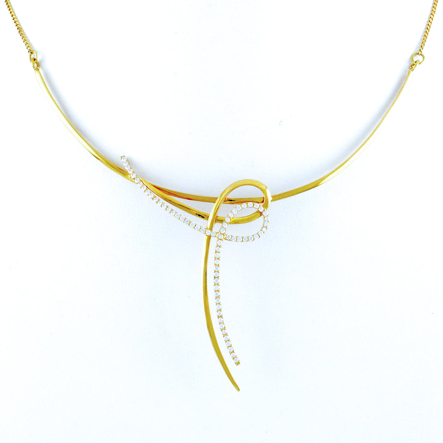 22KT YELLOW GOLD NECKLACE (NE0001143)