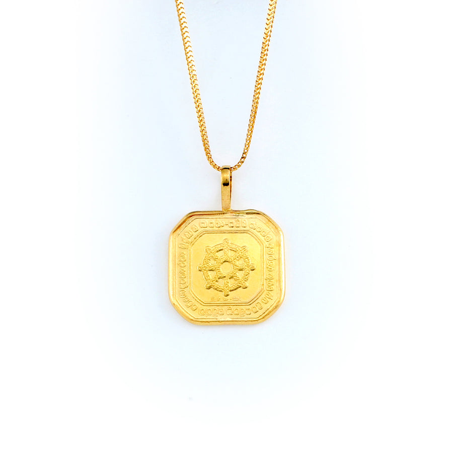 22KT YELLOW GOLD PANCHAUDA (PA0000047)
