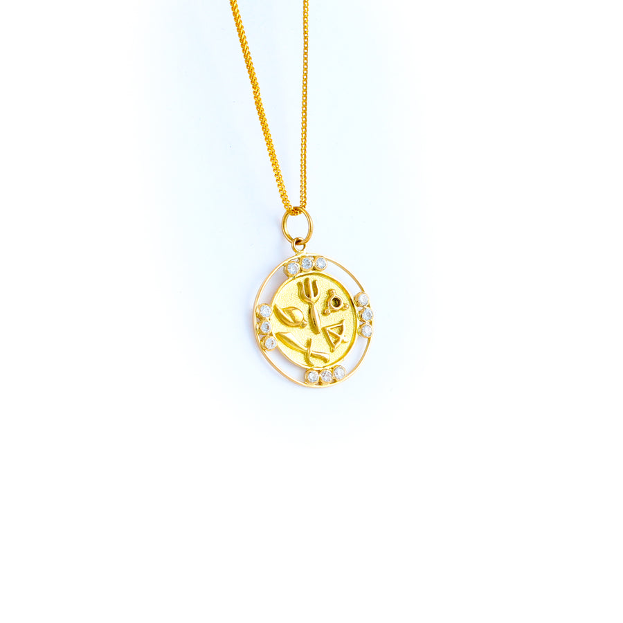 22KT YELLOW GOLD PANCHAUDA (PA0000061)
