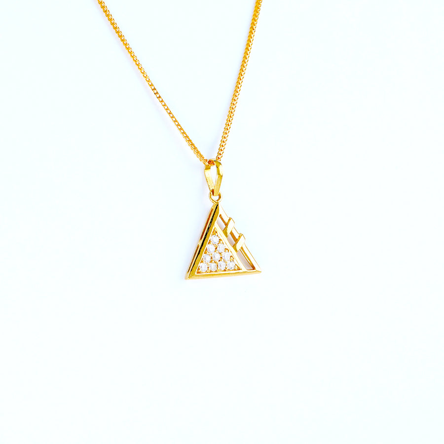 22KT YELLOW GOLD LADIES PENDANT (PE0000227)
