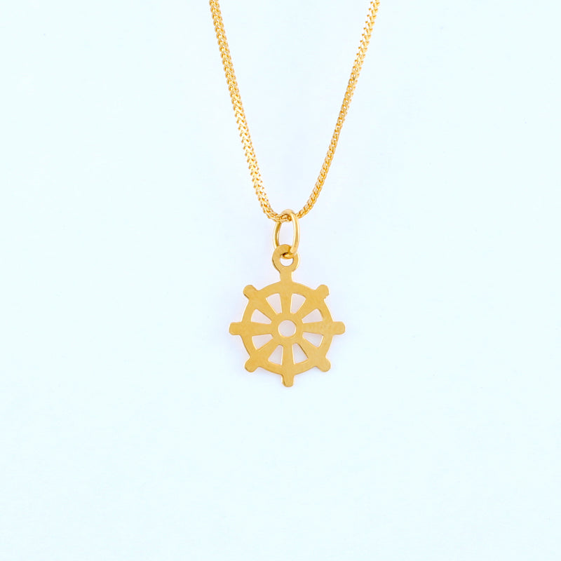 22KT YELLOW GOLD PENDANT (PE0000753)