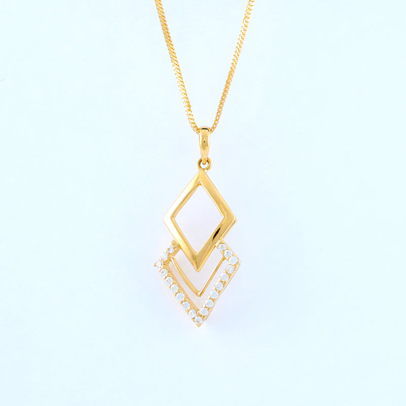 22KT YELLOW GOLD LADIES PENDANT (PE0000949)