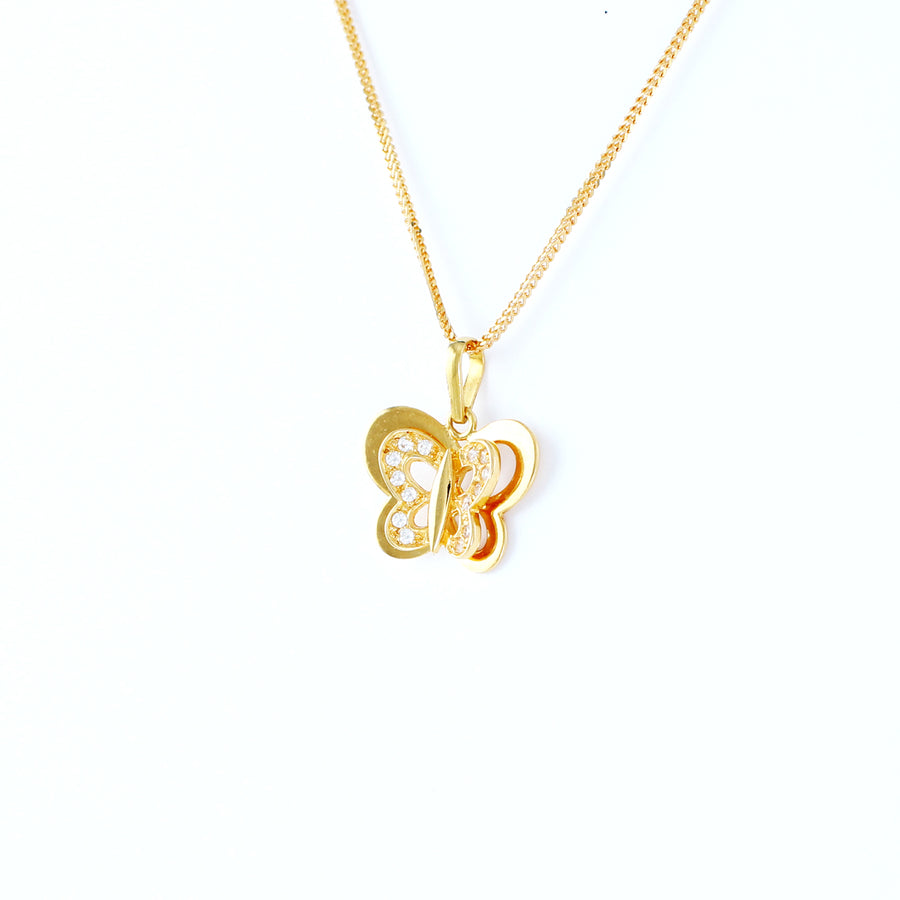 22KT YELLOW GOLD LADIES PENDANT (PE0000973)