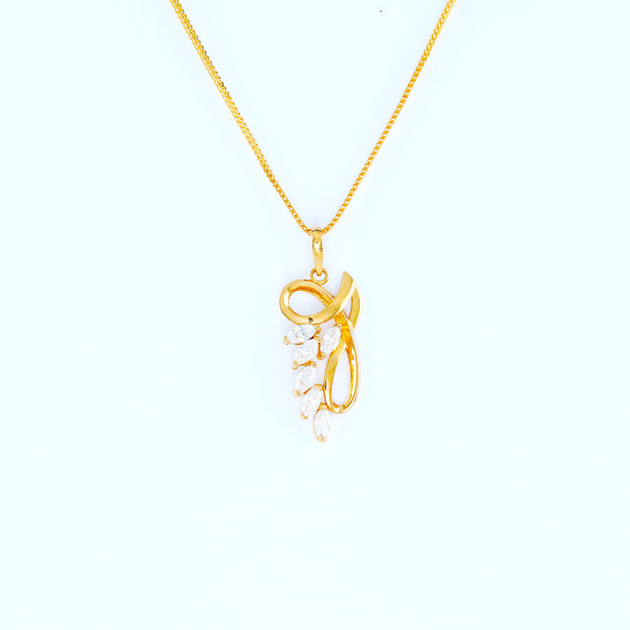22KT YELLOW GOLD LADIES PENDANT (PE0001372)