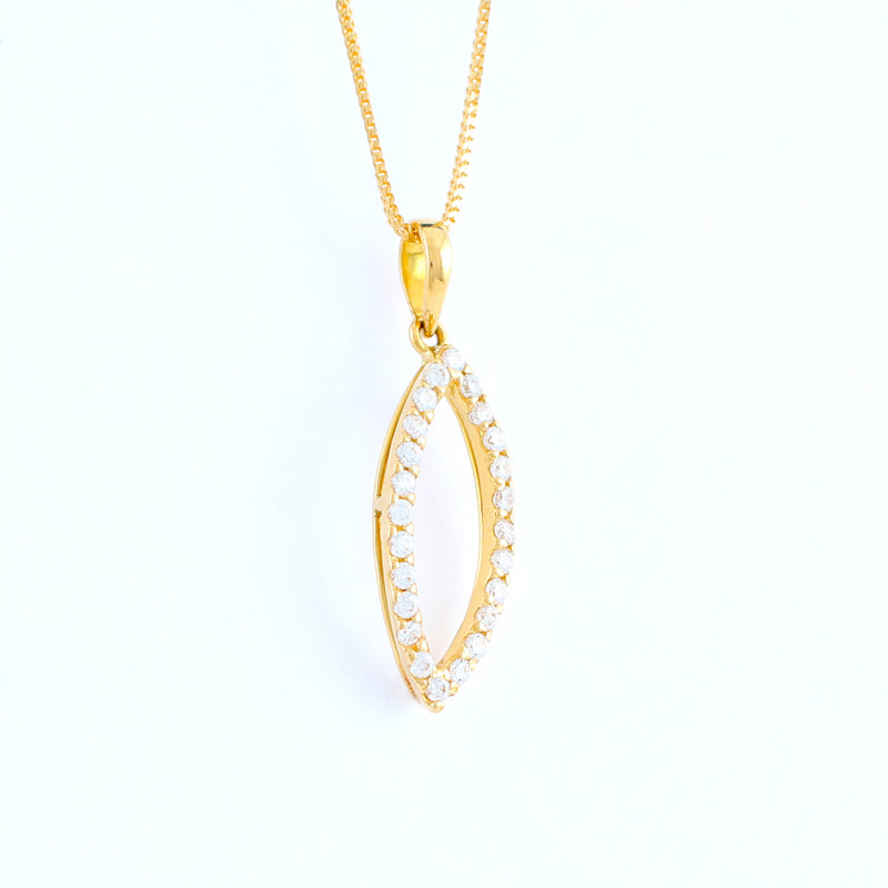 22KT YELLOW GOLD LADIES PENDANT (PE0001397)