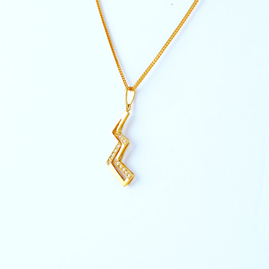 22KT YELLOW GOLD LADIES PENDANT (PE0001441)