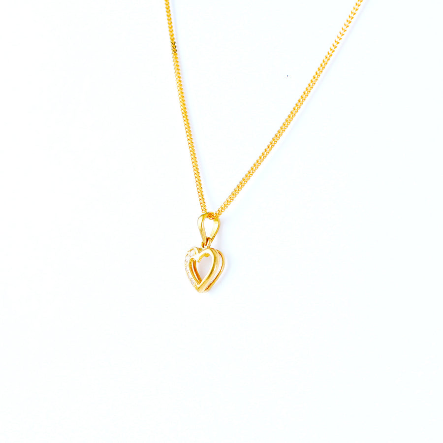 22KT YELLOW GOLD LADIES PENDANT(PE0001443)