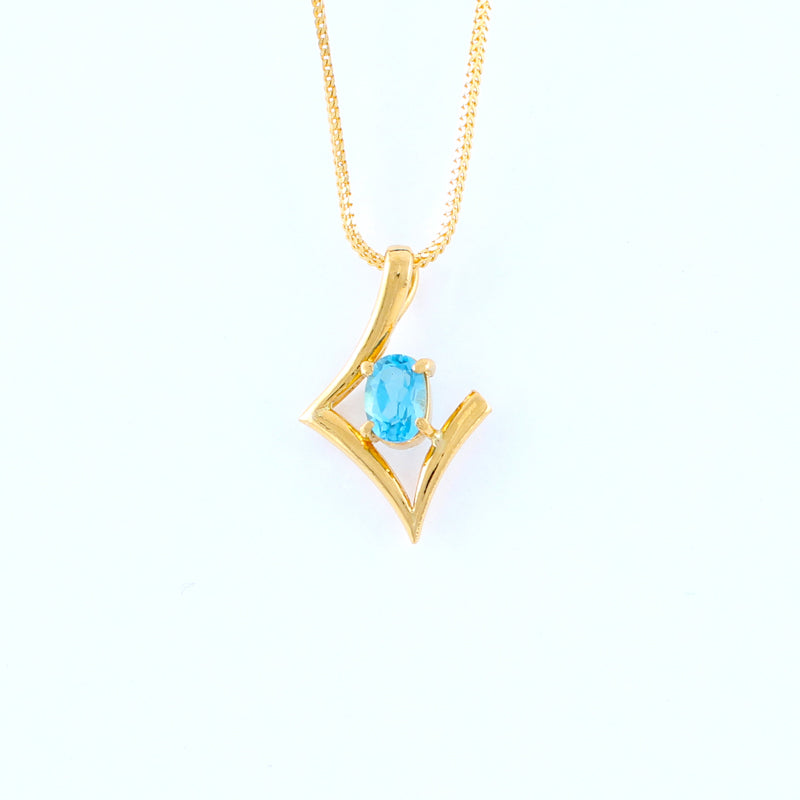 22KT YELLOW GOLD LADIES PENDANT (PE0001556)