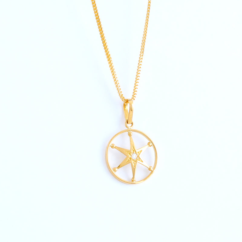 22KT YELLOW GOLD LADIES PENDANT (PE0001575)