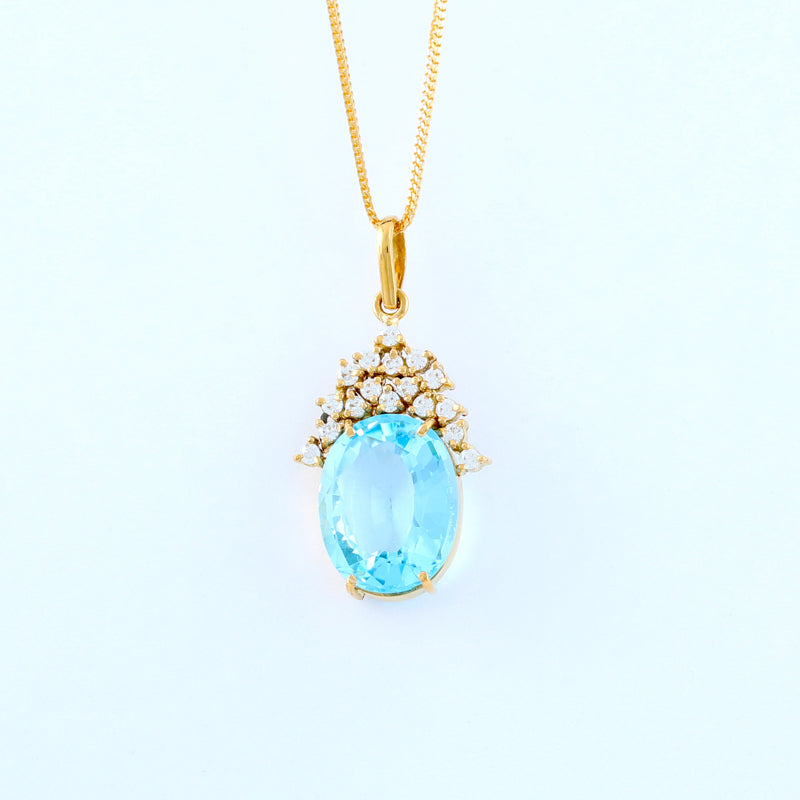 22KT YELLOW GOLD LADIES PENDANT (PE0001582)