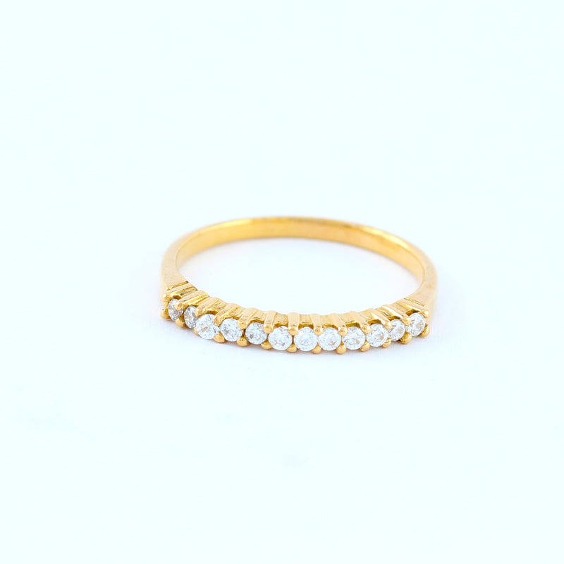 22KT YELLOW GOLD LADIES RING (RI0000043)