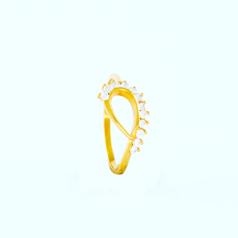 22KT YELLOW GOLD LADIES RING (RI0000196)
