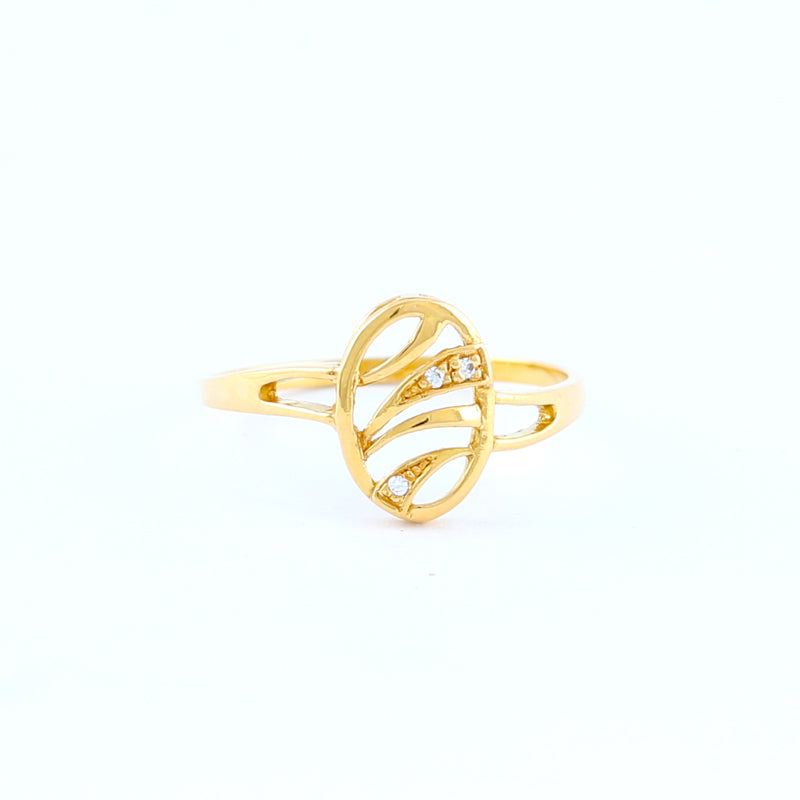 22KT YELLOW GOLD LADIES RING (RI0000563)