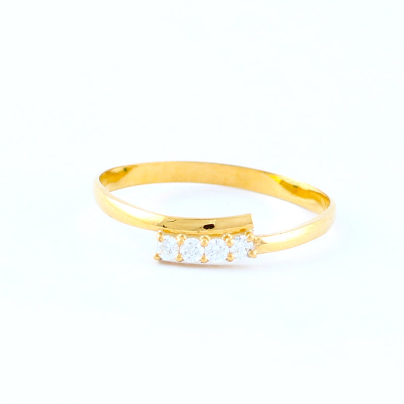 22KT YELLOW GOLD LADIES RING (RI0000673)