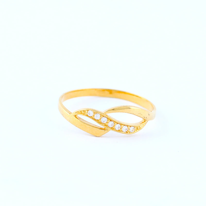 22KT YELLOW GOLD LADIES RING (RI0000821)