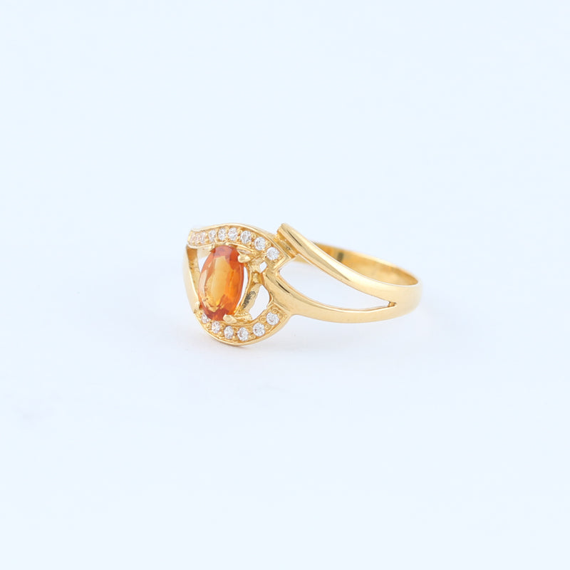 22KT YELLOW GOLD LADIES RING (RI0000979)
