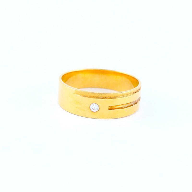 22KT YELLOW GOLD LADIES RING (RI0001016)