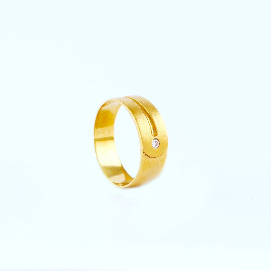 22KT YELLOW GOLD UNISEX RING (RI0001348)