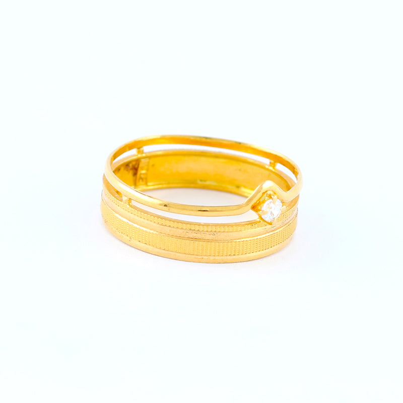 22KT YELLOW GOLD LADIES RING (RI0001414)