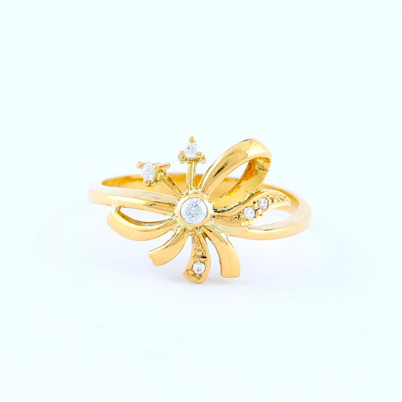 22KT YELLOW GOLD LADIES RING (RI0001562)