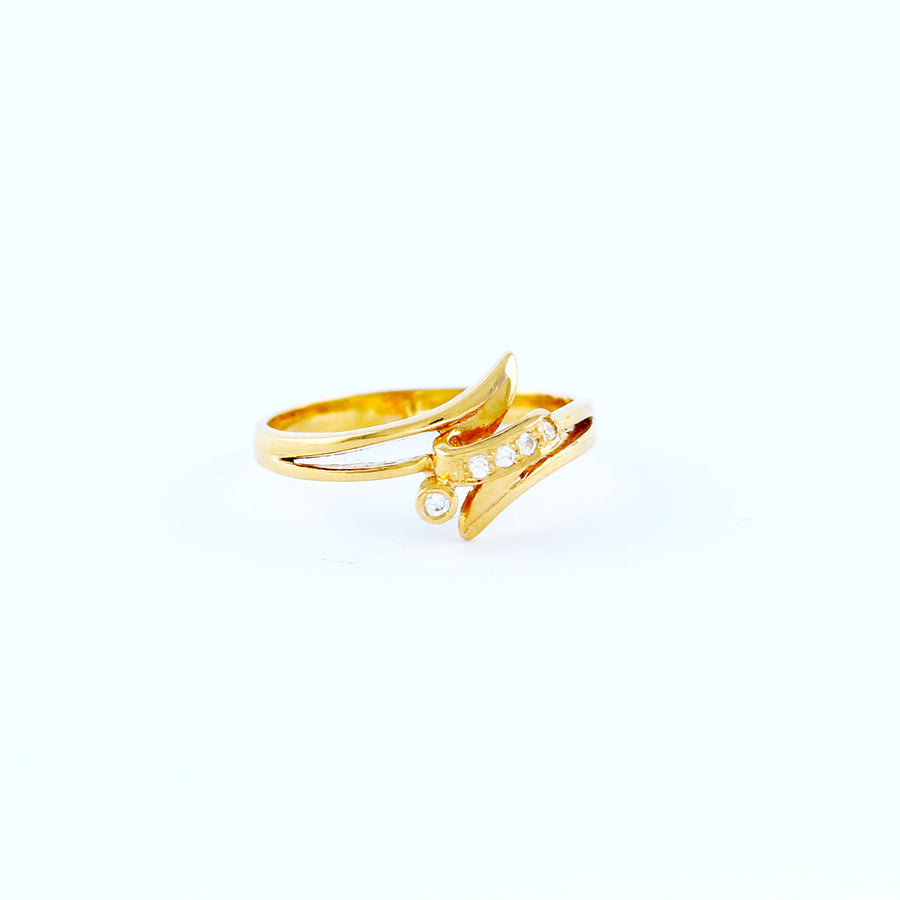 22KT YELLOW GOLD LADIES RING (RI0001565)