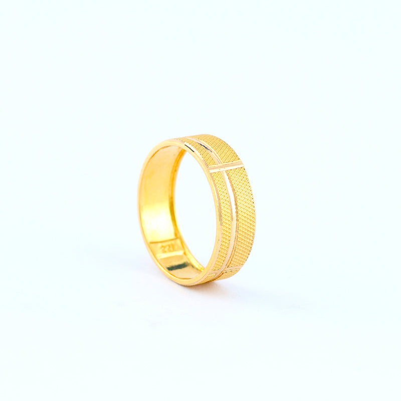 22KT YELLOW GOLD LADIES RING (RI0001629)