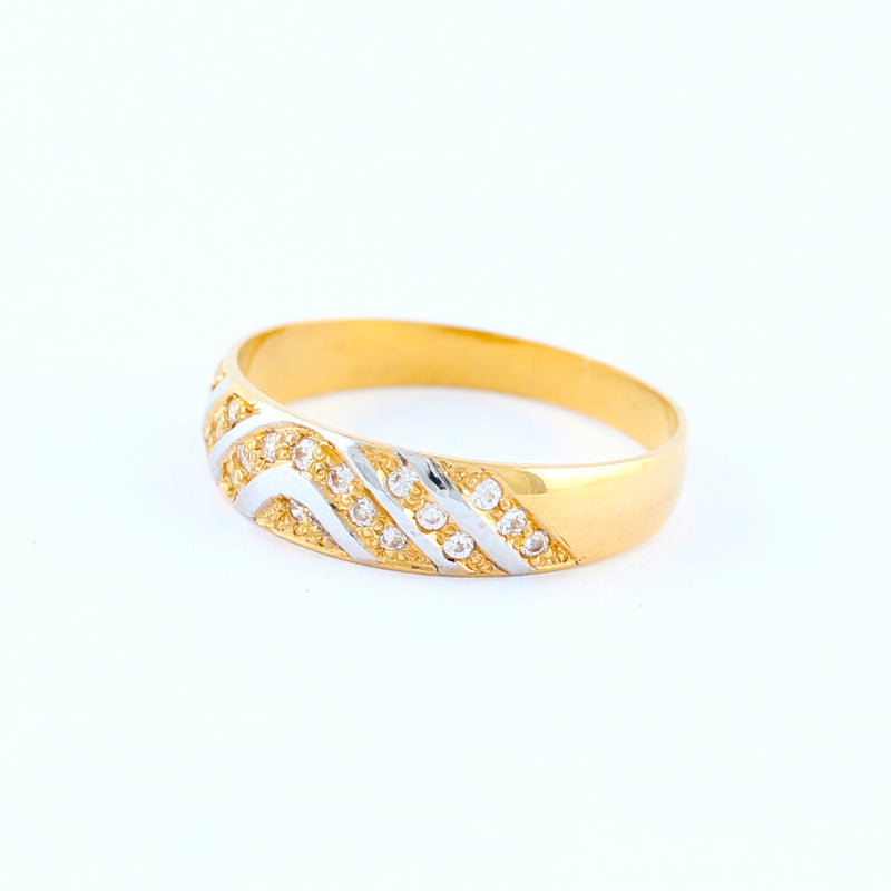 22KT YELLOW GOLD LADIES RING (RI0001666)