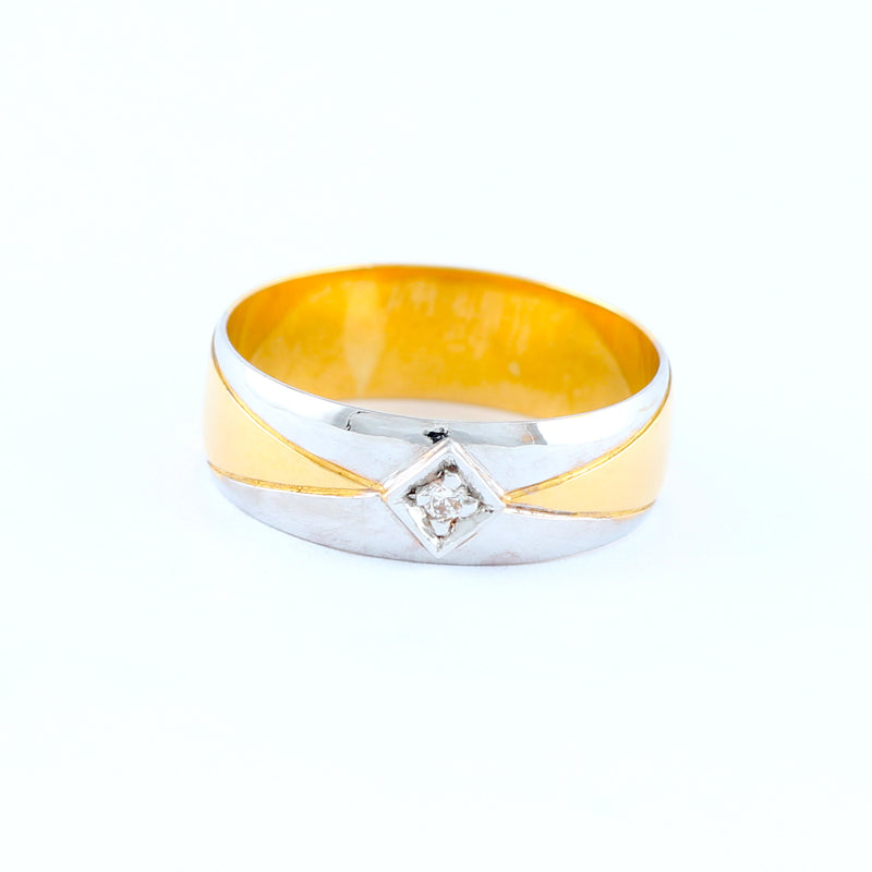 22KT YELLOW GOLD UNISEX RING (RI0001674)