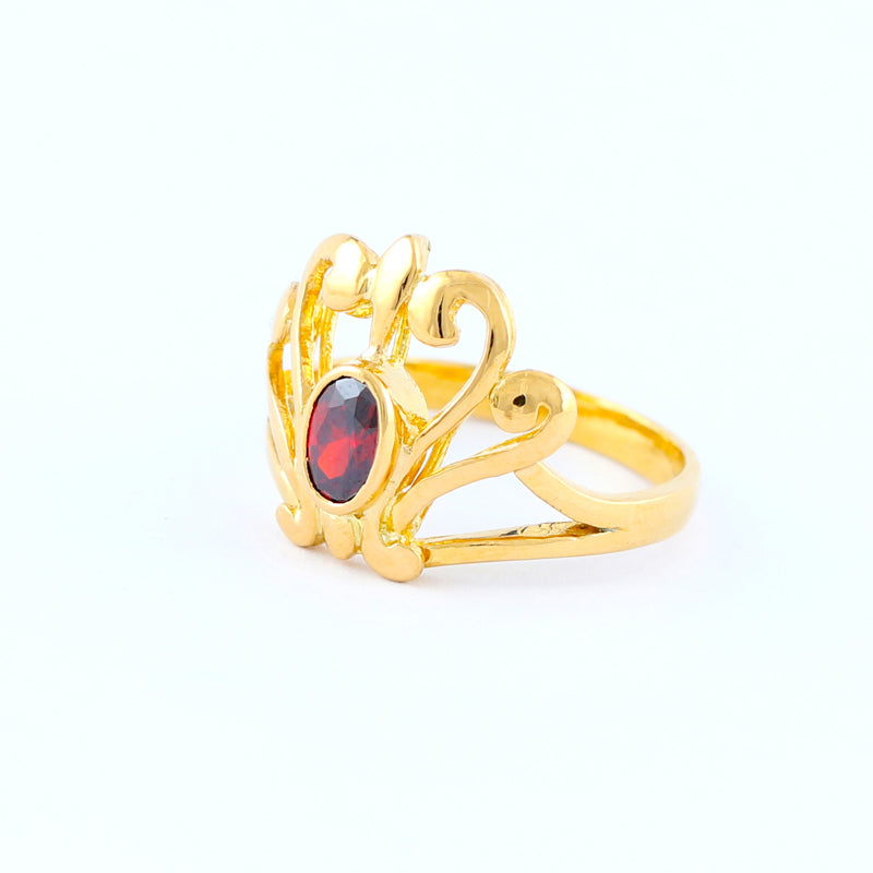 22KT YELLOW GOLD LADIES RING (RI0001688)