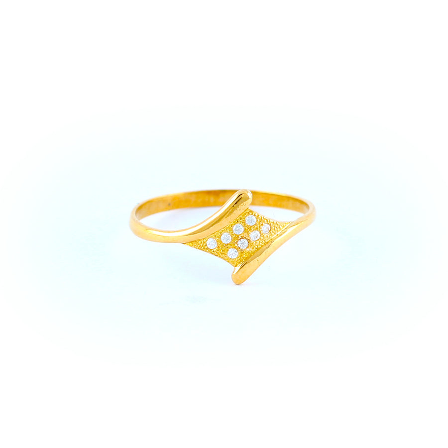 22KT YELLOW GOLD LADIES RING (RI0001787)
