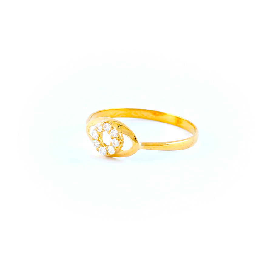 22KT YELLOW GOLD LADIES RING (RI0001788)