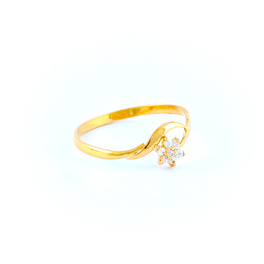 22KT YELLOW GOLD LADIES RING (RI0001791)