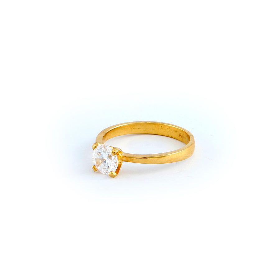 22KT YELLOW GOLD LADIES RING (RI0001799)