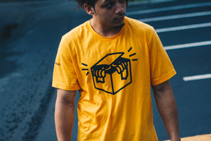 Out The Box Gold Tee