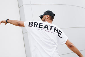 Breathe. Shoulder Tee