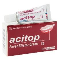 Acitop Fever Blister Cream 2g