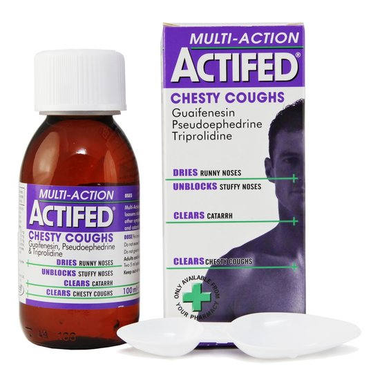 Actifed Cold Syrup 50ml
