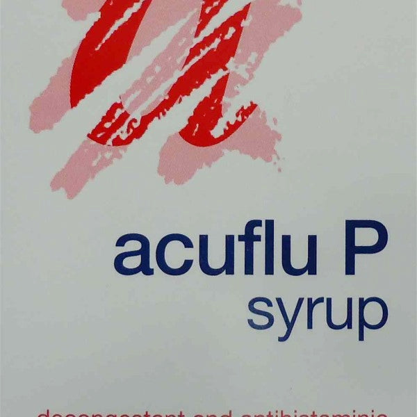 Acuflu Pediatric Syrup 100ml