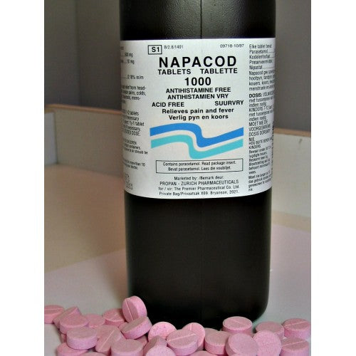 Adco-Napacod Tablets 1000s