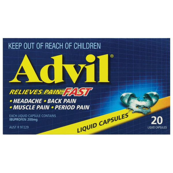 Advil Liqui-Gels 400mg Capsules 20s