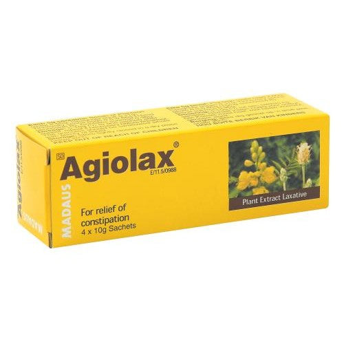 Agiolax Herbal Laxative 4 Sachets