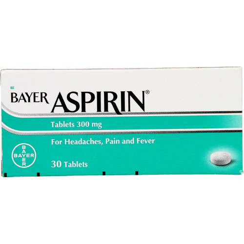 Aspirin 300mg 30 Tablets